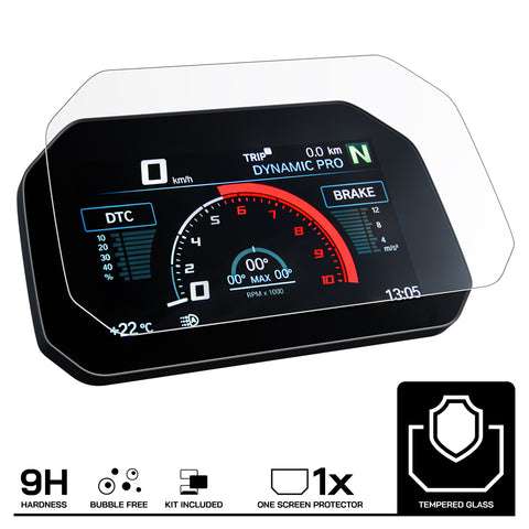 Speedo Angels BMW Connectivity Tempered Glass Dashboard Screen Protector (1 x Anti-Glare) (SABM1TGAG)