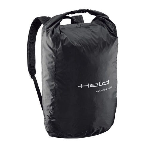 Held Rain Backpack / Helmet Bag - Black