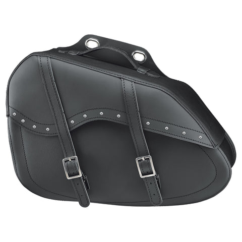Held Cruiser Drop Leather Saddle Bag with Rivets (004865-10-001)
