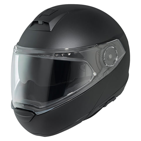 Held by Schuberth H-C4 Tour Flip Up Helmet Black (007854-00/0016)