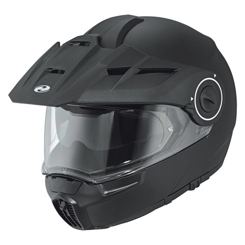 Held by Schuberth H-E1 Adventure Flip -Up Helmet Black Matt (007855-00/016)