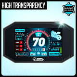 Speedo Angels Ktm 125/390 Duke 2017+, 790 Adventure 2019+ Nano Glass Dashboard Screen Protector (2 X Ultra-Clear)