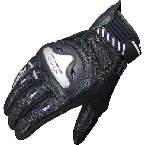 Komine SuperFit Titanium Gloves R-Spec (GK-200)