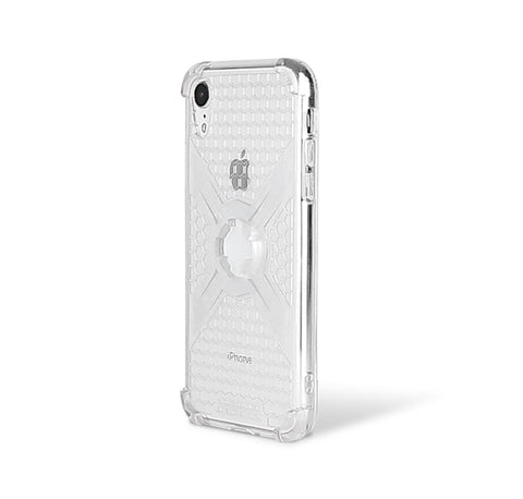 Cube-Intuitive IPhone XR X-Guard, Clear Bones Infinity mount Cover