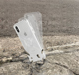 Cube-Intuitive IPhone X/XS X-Guard, Clear Bones Infinity mount Cover (MA12-0008)