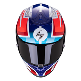 Scorpion Exo-R1 Air Infini White-Blue-Red (10-313-236)