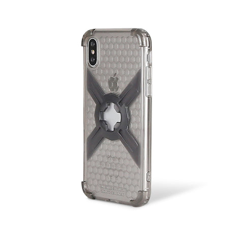 Cube-Intuitive IPhone X/XS X-Guard, Clear Grey Bones Infinity mount Cover