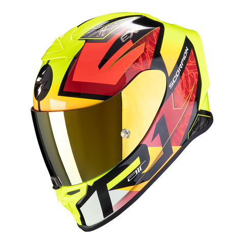 Scorpion Exo-R1 Air Infini Black-Red-Yellow (10-313-259)