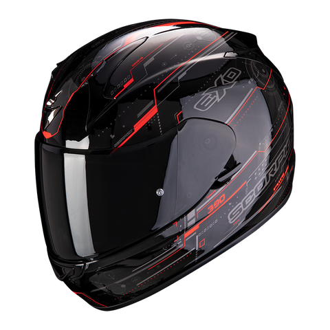 Scorpion Exo-390 Beat Black-Red (39-305-160)