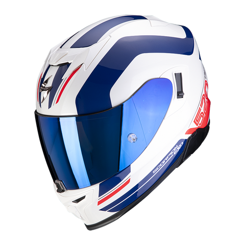 Scorpion Exo-520 Air Lemans White Blue Red (72-349-236)