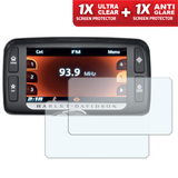Speedo angels dashboard screen protectors for harley davidson boom! Box 6.5gt (gps) 2014+ (1xultraclear + 1xantiglare)