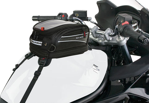 Nelson Rigg CL-2014 Journey Mini Motorcycle Tank Bag - Strap Mount (CL-2014-ST)