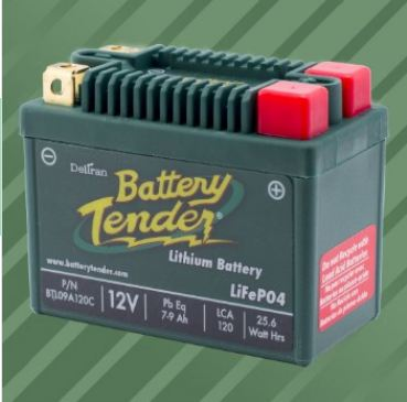 Battery Tender Lithium 12V Pb Eq 7-9Ah LCA120 25.6Watt Hrs(BTL09A120C)