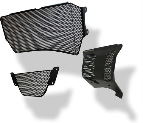 Evotech Performance Radiator, Engine, Oil Cooler Guard Set for Ducati Monster