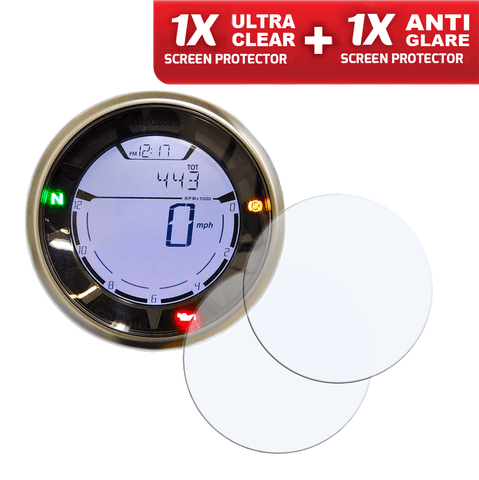 Speedo Angels Dashboard Screen Protectors For Ducati Scrambler 2015+ (1xultraclear + 1xantiglare)