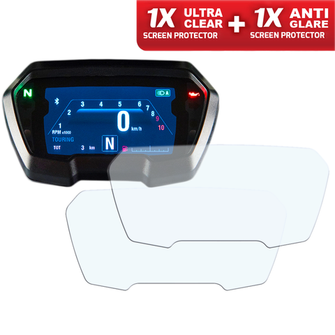 Speedo Angels Dashboard Screen Protectors For Ducati Xdiavel 2016+ (1xultraclear + 1xantiglare)