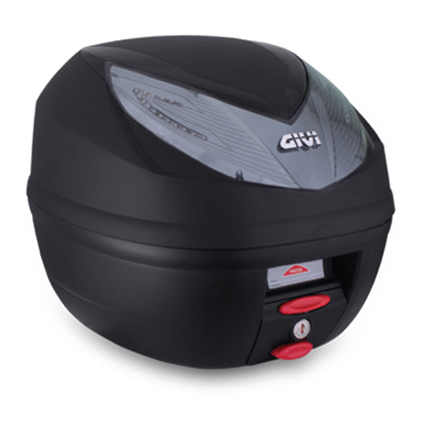 GIVI 25ltr. Monolock® Topcase Black with Smoke Reflector (E250N2)