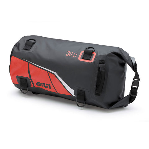 GIVI Waterproof Tail Bag 30Ltr Black/Red (EA114BR)