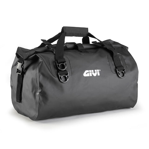 GIVI Waterproof Cylinder Tail Bag 40ltr Black (EA115BK)