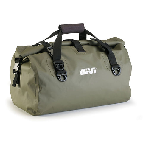 GIVI Waterproof Cylinder Tail Bag 40ltr Khakhi Green (EA115KG)