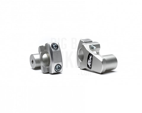 Rox Pivoting Handlebar Risers - 51mm Rise, 22mm For Bmw G 310gs / R