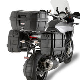 GIVI Trekker Black Line 46ltrs Top/Side Cases with Aluminium finish (TRK46B)