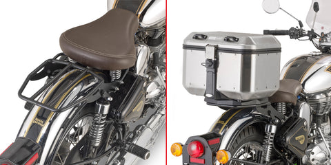GIVI Rear Rack for Royal Enfield 500 for Monolock/Monokey Topcase (SR9052B)