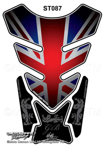 Motografix Union Jack Motorcycle Tank Pad Protector ( ST087 )