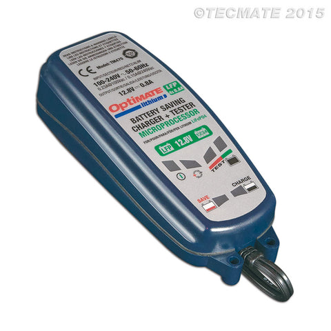 Optimate 4S Lithium 0.8A Battery Charger (TM470)