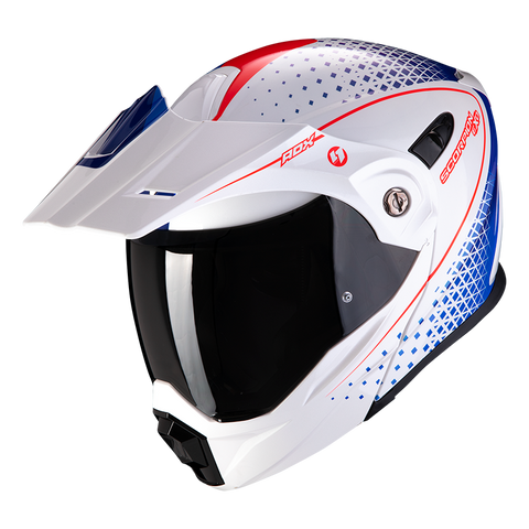 Scorpion ADX-1 Horizon White Red Blue (84-282-125)