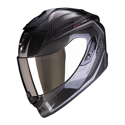 Scorpion Exo-1400 Air Carbon Esprit Black Silver (14-276-58)
