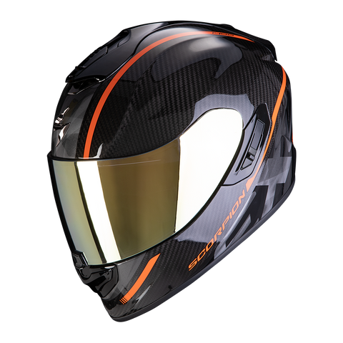 Scorpion Exo-1400 Air Carbon Grand Orange (14-273-08)