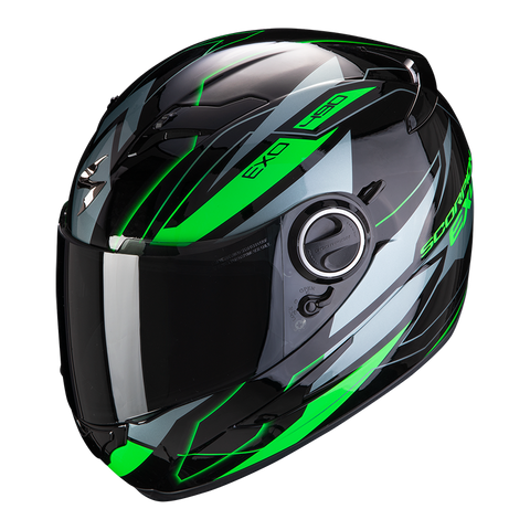 Scorpion Exo-490 Nova Black-Green (49-285-69)