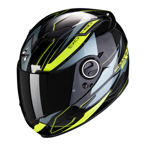 Scorpion Exo-490 Nova Black-Yellow (49-285-141)