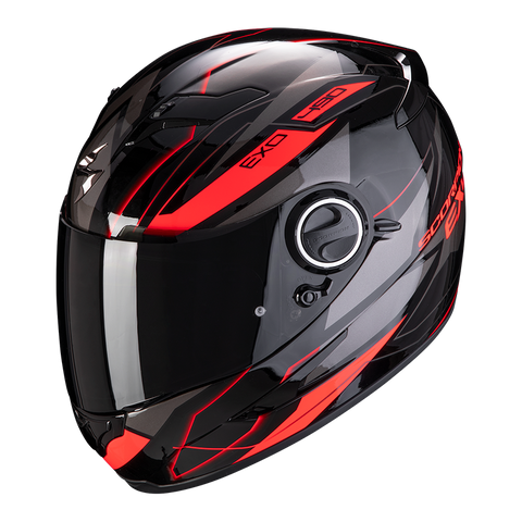 Scorpion Exo-490 Nova Black-Red (49-285-24)