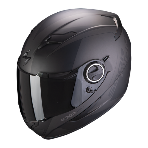 Scorpion Exo-490 Pace Matt Black-Silver (49-279-159)
