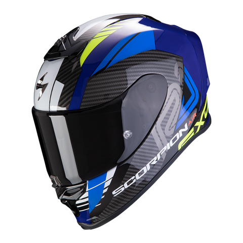 Scorpion Exo-R1 Air Halley Blue Yellow (10-298-203)