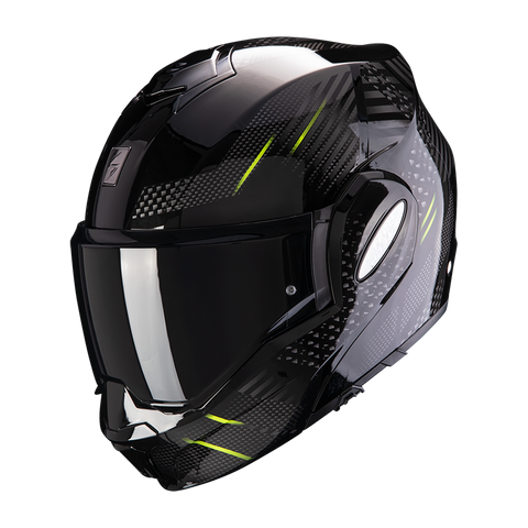 Scorpion Exo-Tech Pulse Black-Yellow (18-091-03)