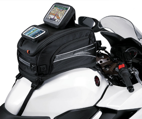 Nelson Rigg CL-2020 GPS Sport Motorcycle Tank Bag - Strap Mount (CL-2020-ST)