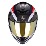 Scorpion Exo-1400 Carbon Air Legione Blue Red (14-309-76)