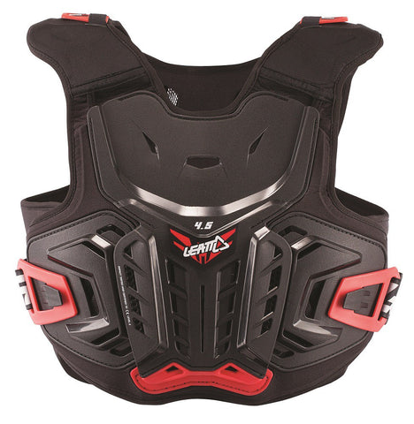 LEATT Chest Protector 4.5 Blk/Red Junior (5017120115)