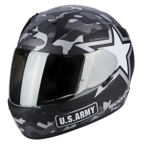 Scorpion Exo-390 Army Black-Silver (39-251-159)