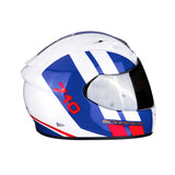Scorpion Exo-710 AIR Gt White Blue Red