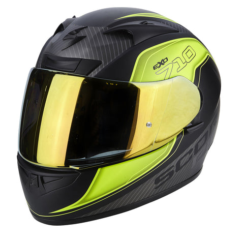 Scorpion EXO-710 Air Mugello Black/Hi-Viz/Silver (71-243-199)