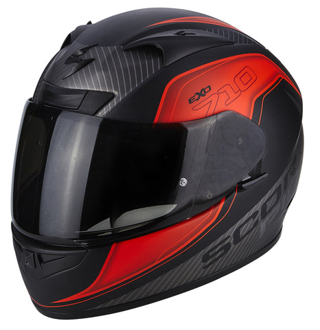 Scorpion EXO-710 Air Mugello Black/Red/Silver (71-243-200)