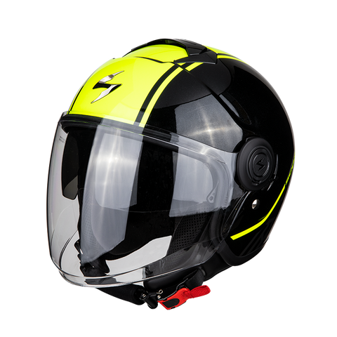 Scorpion Exo-City Avenue Black-Yellow (83-256-243)