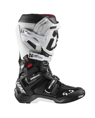 Leatt Boot GPX 5.5 Flexlock Black/White (302000212)