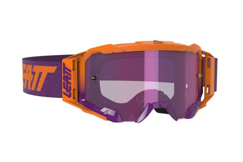 Leatt Goggle Velocity 5.5 Iriz Neon Orange Purple 78% (8020001020)