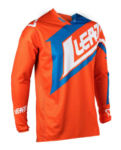 Leatt Jersey GPX 4.5 Lite Orange/Denim (501870017)