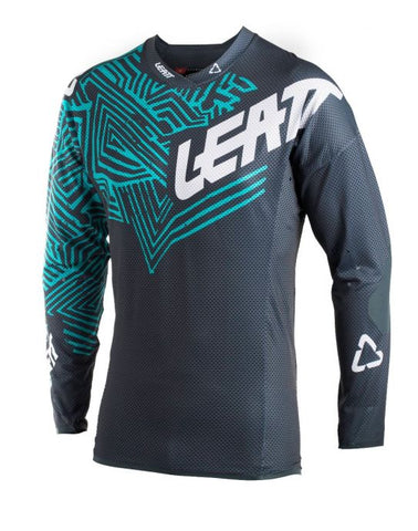 Leatt Jersey GPX 5.5 Ultraweld Grey/Teal (501870012)